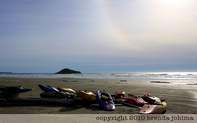 Ocean Kayaks on Long Beach Tofino