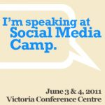 I'm Speaking at Social Media Camp 2011