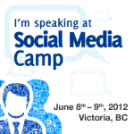 I'm Speaking at Social Media Camp
