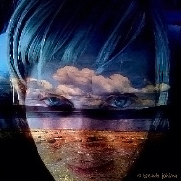 Brenda Johima Creative and Beautiful iPhone Self Portrait