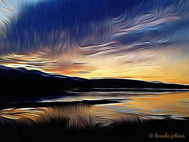 Ships Point Fanny Bay iPhone Art