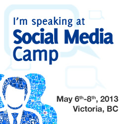 i am speaking at social media camp 2013
